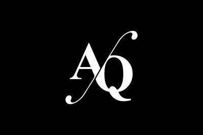 AQ Monogram Logo design