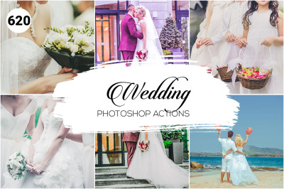 620 Wedding Photoshop Actions