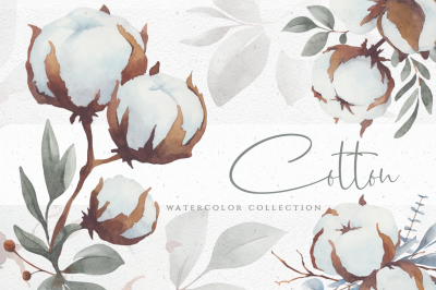 Watercolor Cotton Collection