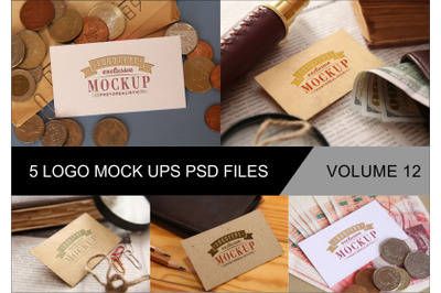 Photo Realistic Mock-ups Set of 5 V12