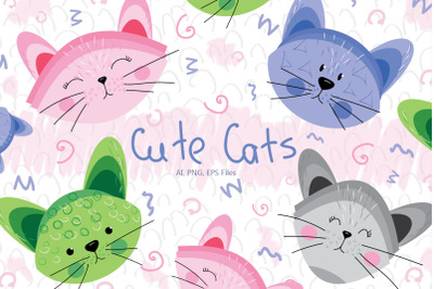 Cute Cats and Patterns