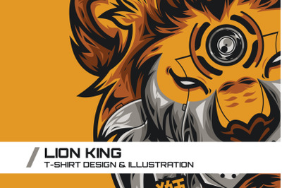 Lion King T-Shirt Illustration