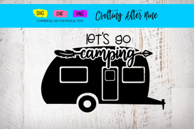 Let's Go Camping, Rv Camper Mountains, Camping Bucket Quotes, Lakeside