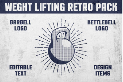 Weight Lifting Retro Pack