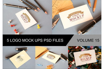 Photo Realistic Mock-ups Set of 5 V15