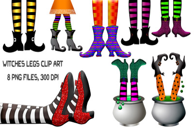 Witches Legs Clip Art