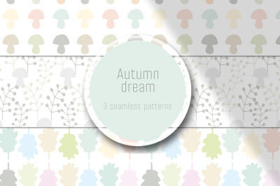 3 autumn patterns