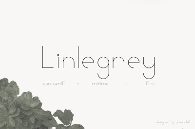 Linlegrey Full Set | A Designer Font