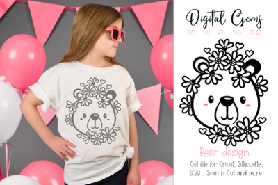 Bear SVG / DXF / EPS / PNG files