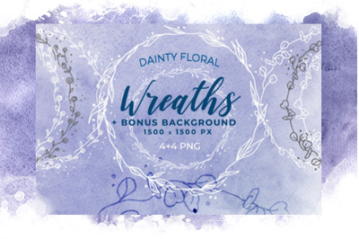 Dainty Floral Wreaths