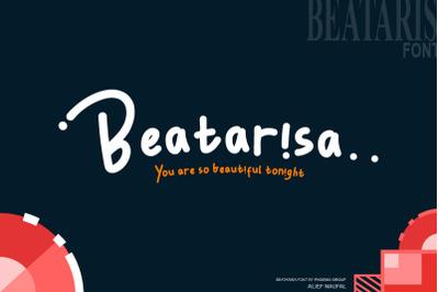 beatarisa font