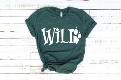 Wild SVG Paw Arrow Stay wild baby onesie 1527s