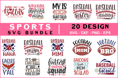 Sports Svg Bundle vol - 02