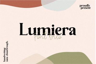 Lumiera Duo Font