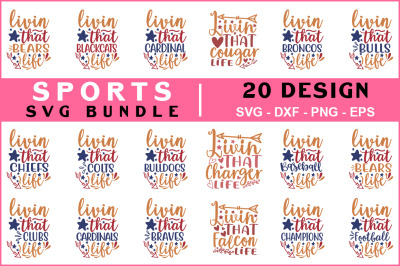 Sport Svg Bundle vol - 05