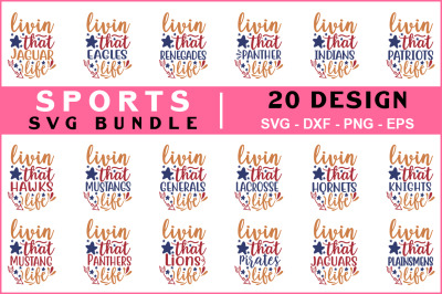 Sports Svg Bundle vol - 06
