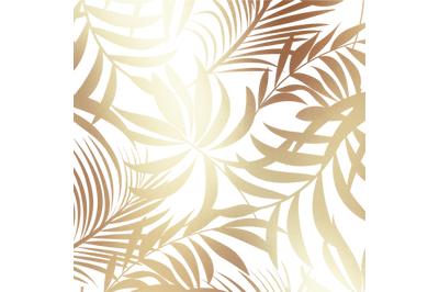 Christmas PNG GoldTropical Digital Paper
