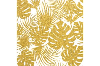 GoldPng Tropical Digital Paper