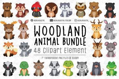 Woodland animal Bundle