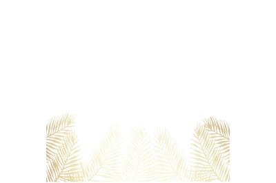 PNG GoldTropical Digital Paper