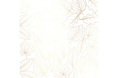 PNG Gold LeavesDigital Paper
