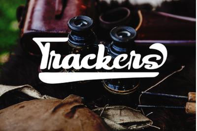 Trackers - Bold Script