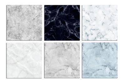 Marble Christmas Digital Paper