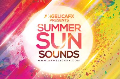 Summer Sun Sounds Photoshop Flyer Template