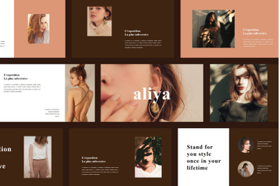 Aliya - Fashion Google Slide