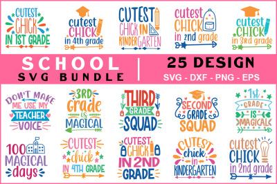School Svg Bundle Vol -01