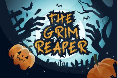 The Grim reaper Font