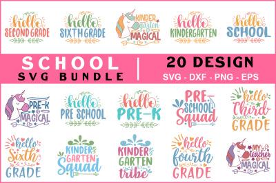 School Svg Bundle Vol -06