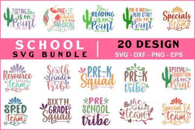 School Svg Bundle Vol -07