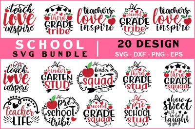 School Svg Bundle Vol -09