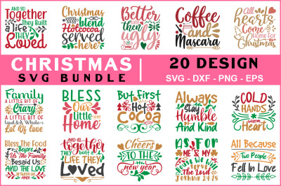 Christmas Svg Bundle Vol-06