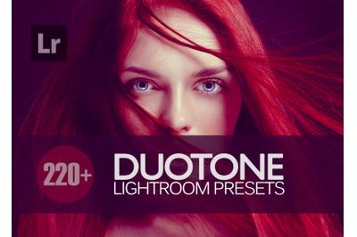 220 Duotone Lightroom Presets bundle (Presets for Lightroom 5,6,CC)