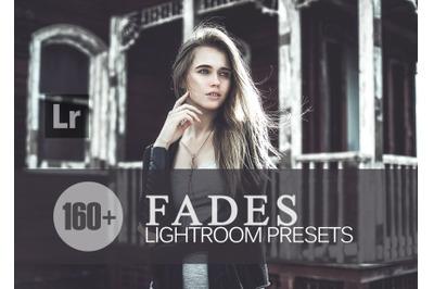 160+ Fades Lightroom Presets bundle (Presets for Lightroom 5,6,CC)