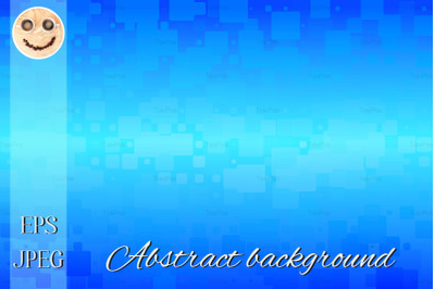 Turquoise blue gradient glowing various tiles background