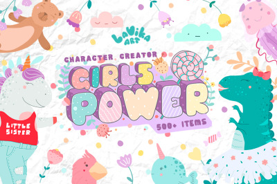 Character creator - Girls power