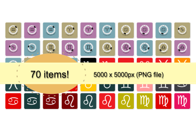 Sign of Zodiac Vol. 2 (70 items)
