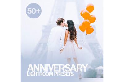 50+ Anniversary Lightroom Presets
