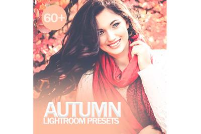 60 Autumn Lightroom Presets