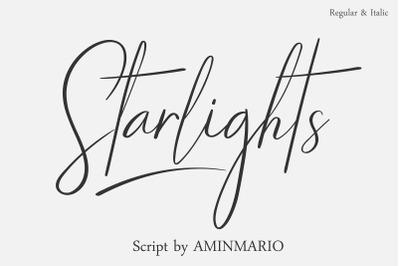 STARLIGHTS | A Classy Script