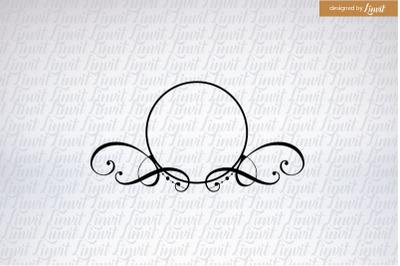 Elegant Wedding Logo, Modern wedding logo, Custom Wedding Logo