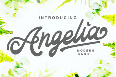 Angelia - Modern Script