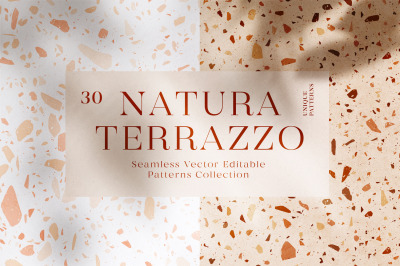 30 Terrazzo Patterns + Bonus