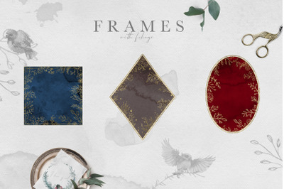 Watercolor Frames