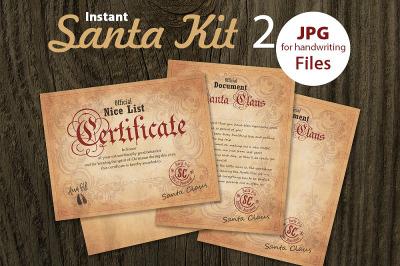 Santa Kit 2 - Printable