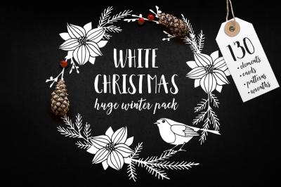 White Christmas set