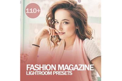 110+ Fashion Magazine Lightroom Presets